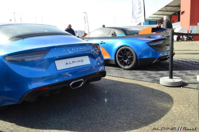 Alpine planet Coupes de Pâques Nogaro A110 GT4 2018 Alexandre Gaillardet 7-imp