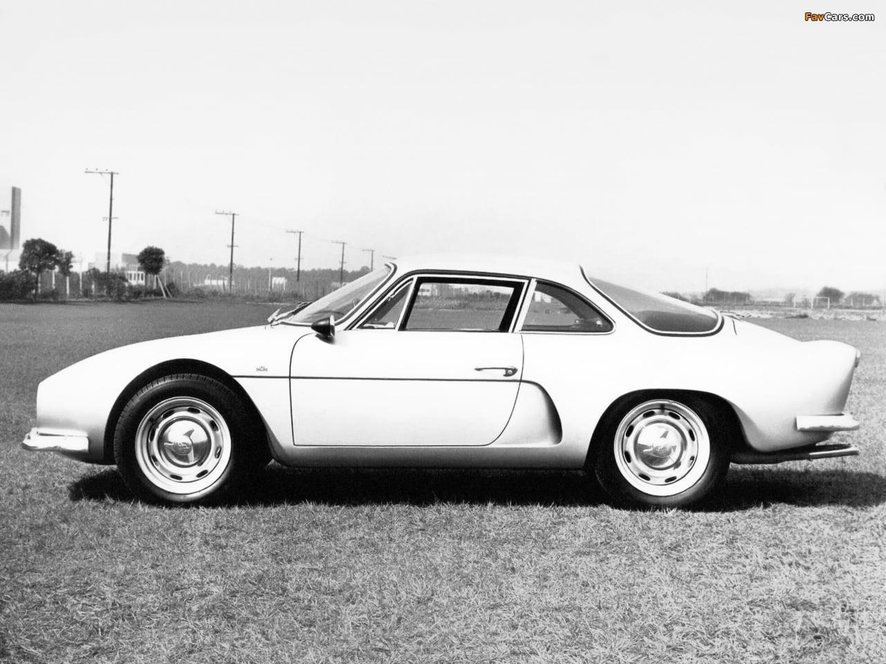 Willys Interlagos II Prototype 1966 4   Overland Interlagos: l'Alpine Made in Brazil !