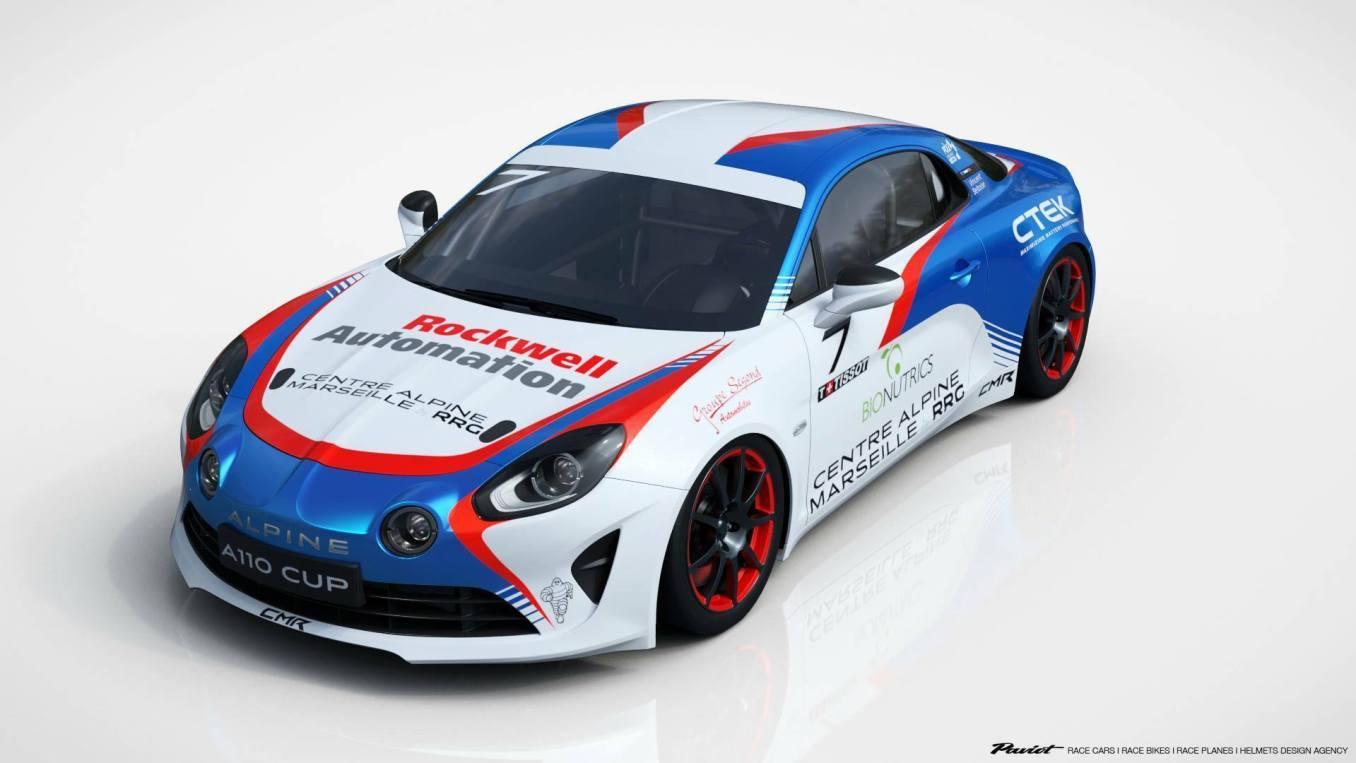 Vincent Beltoise nous présente son Alpine A110 CUP via CMR 2