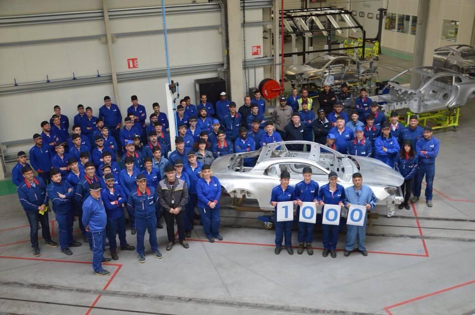 L'usine Alpine de Dieppe fête sa 1000ème A110 produite ! 1