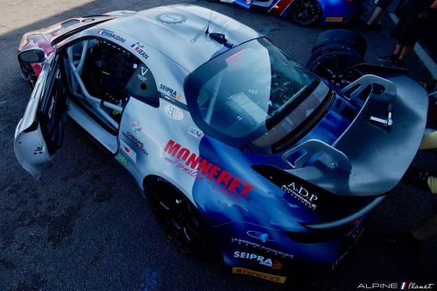 Alpine Planet FFSA GT GT4 Dijon Prenois A110 - 1