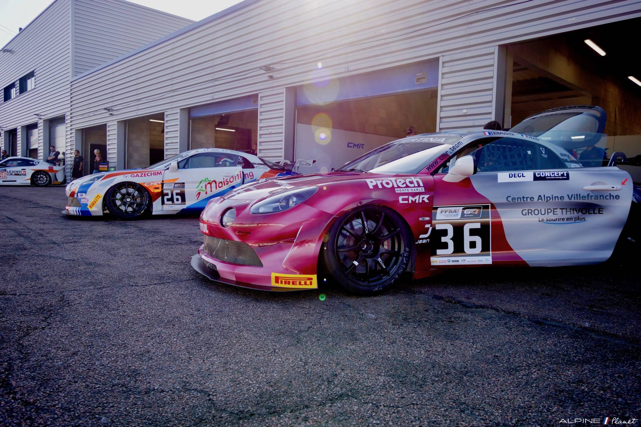 Alpine Planet FFSA GT GT4 Dijon Prenois A110 2 | Livre | Alpine, le retour en compétition