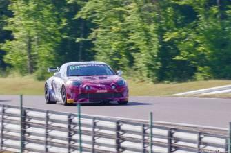 Alpine Planet FFSA GT GT4 Dijon Prenois A110 - 4