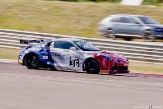 Alpine Planet FFSA GT GT4 Dijon Prenois A110 - 9
