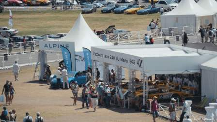 Alpine Planet Le Mans Classic 2018 A110 A310 GTA A610 Cup FCRA FFVE Berlinette Mag - 185-imp
