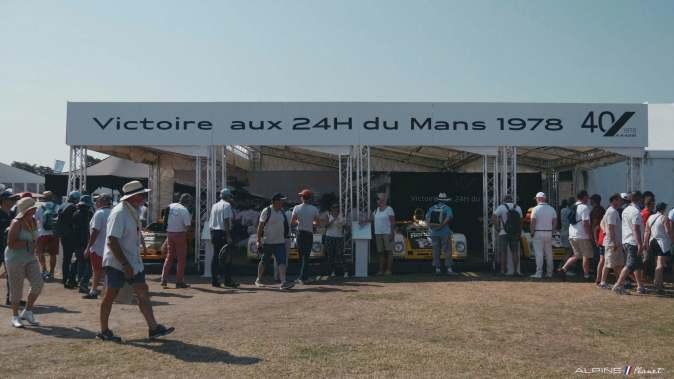 Alpine Planet Le Mans Classic 2018 A110 A310 GTA A610 Cup FCRA FFVE Berlinette Mag - 37-imp