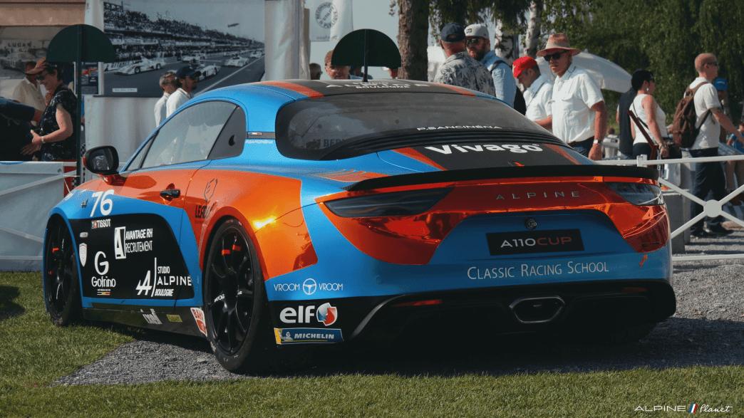 Alpine Planet Le Mans Classic 2018 A110 A310 GTA A610 Cup FCRA FFVE Berlinette Mag - 5-imp
