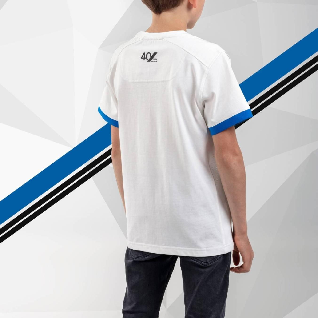 tee shirt enfant blanc Alpine Collection 1978 boutique anniversaire 40 ans 24 heures du mans