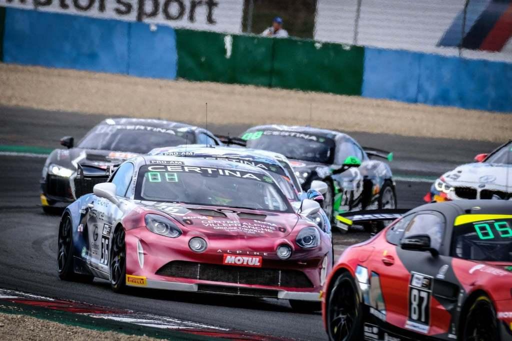 FFSA GT4 Alpine A110 Pierre Sancinena Magny Cours CMR victoire 9 | FFSA GT: CMR engage deux Alpine A110 GT4 pour la saison 2020