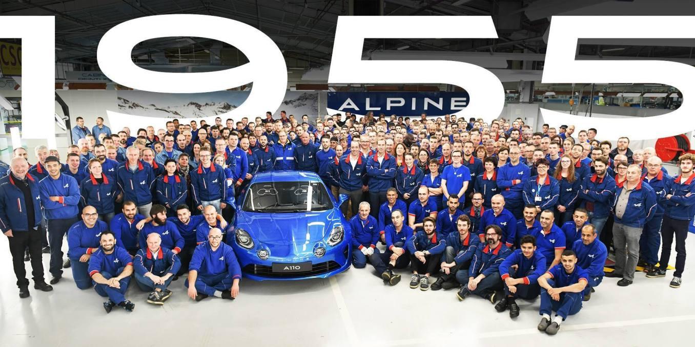 Dieppe 1955 exemplaires Première Edition Alpine A110 2018 | Dieppe: les 1955 Alpine A110 Première Edition ont été produites !