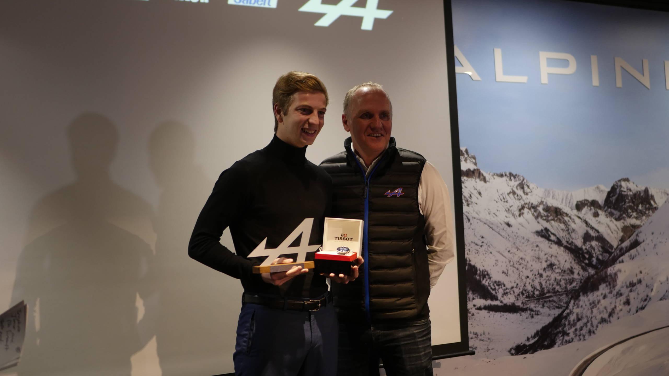 Soirée Alpine Elf Europa Cup 2018 récompense Showroom CMR 1 | Alpine Elf Europa Cup: par ici le programme 2019 !