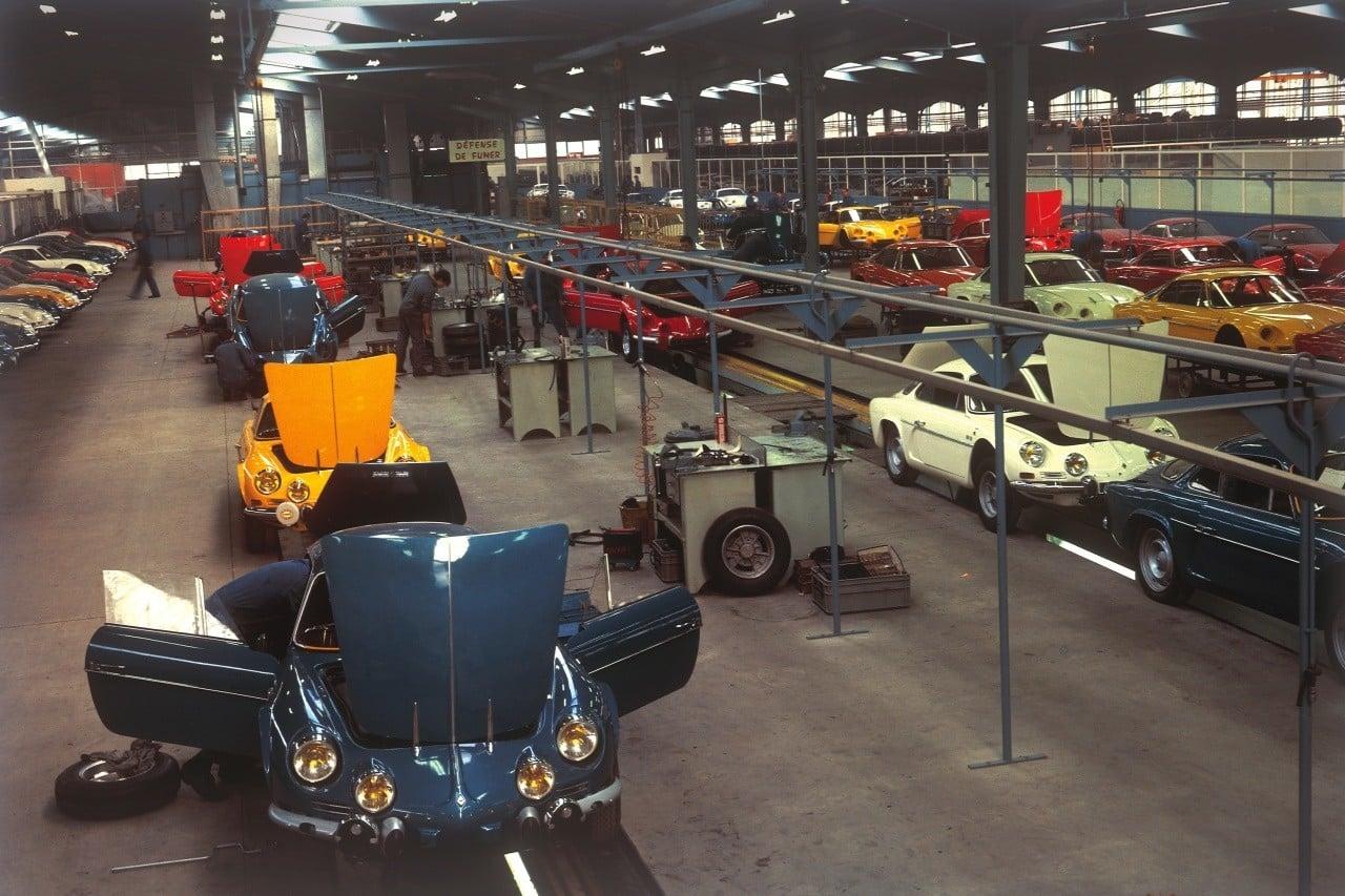 dieppe usine alpine | L'usine Alpine de Dieppe, son histoire !