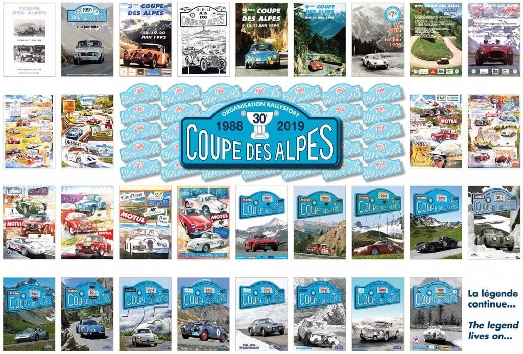 30e Coupe des Alpes Alpine A110 Rédélé 3 - 30e Coupe des Alpes: un rallye de 830 kms
