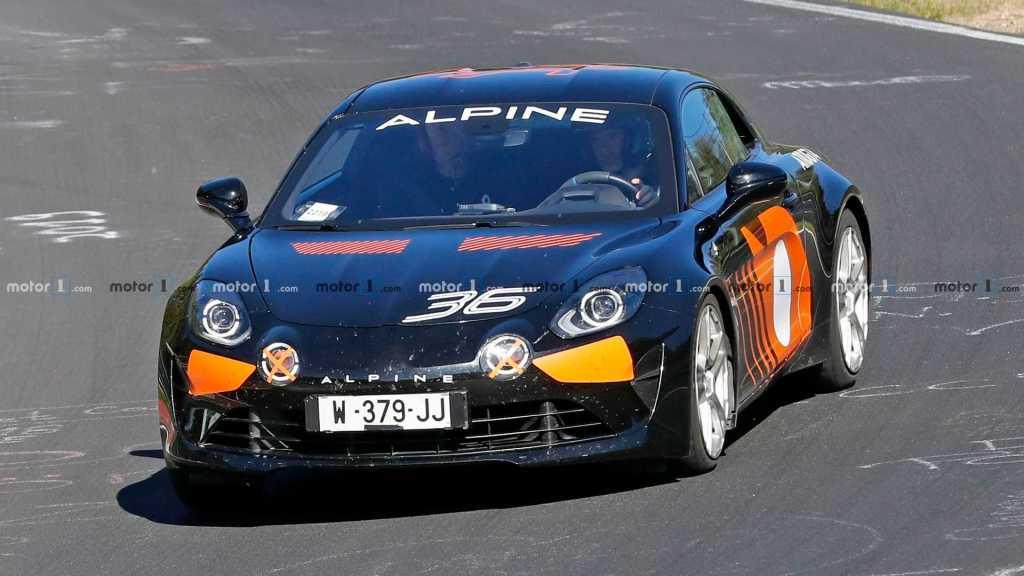 possible higher specification alpine a110 spy photo   La nouvelle Alpine AS110 / A110 S, on la tient enfin !
