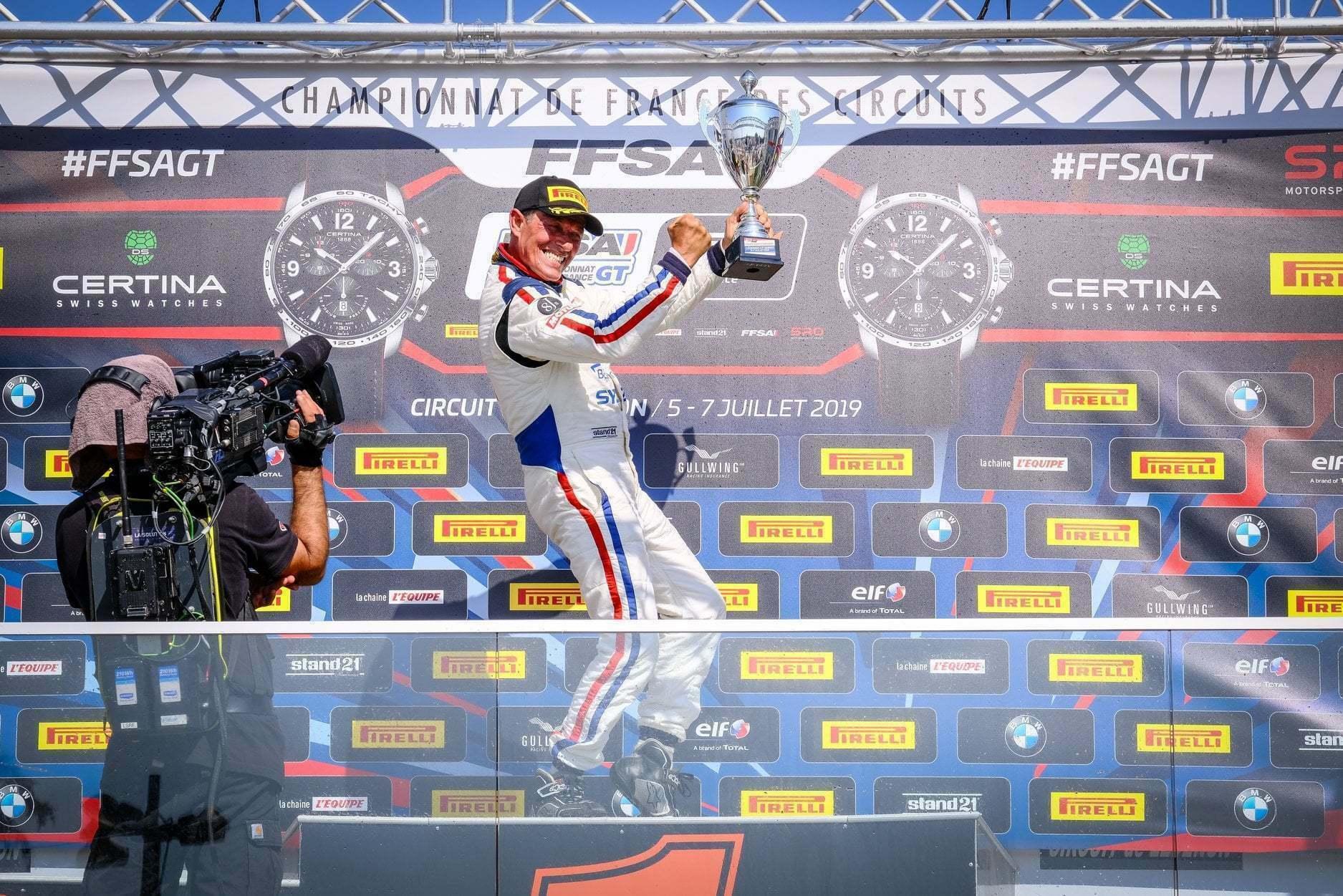FFSA GT4 Circuit Lédenon Course 1 2019 Bodemer CMR Alpine A110 1 | FFSA GT: Rédélé Compétition s'impose à Lédenon ! (Course 1)