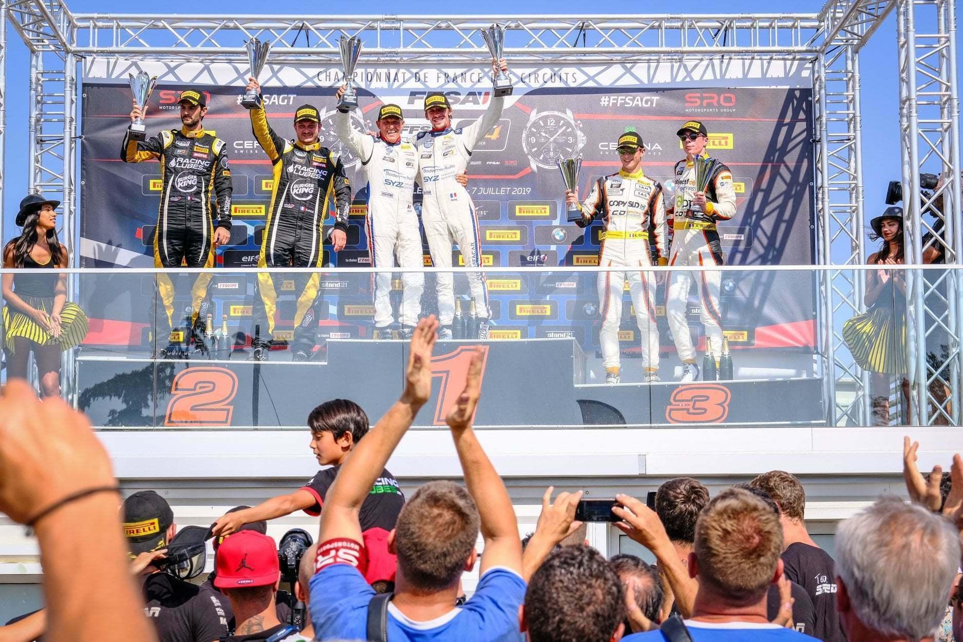 FFSA GT4 Circuit Lédenon Course 1 2019 Bodemer CMR Alpine A110 2 | FFSA GT: Rédélé Compétition s'impose à Lédenon ! (Course 1)