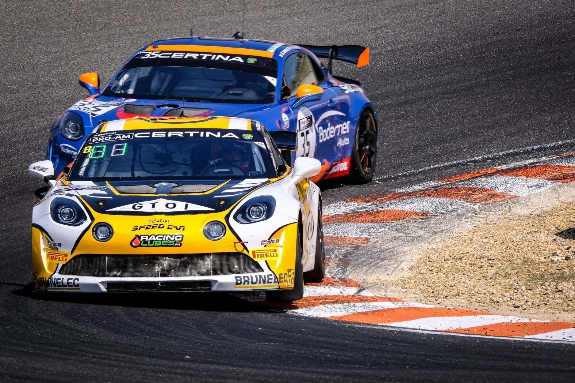FFSA GT4 Circuit Lédenon Course 1 2019 Bodemer CMR Alpine A110 8 | FFSA GT: Rédélé Compétition s'impose à Lédenon ! (Course 1)
