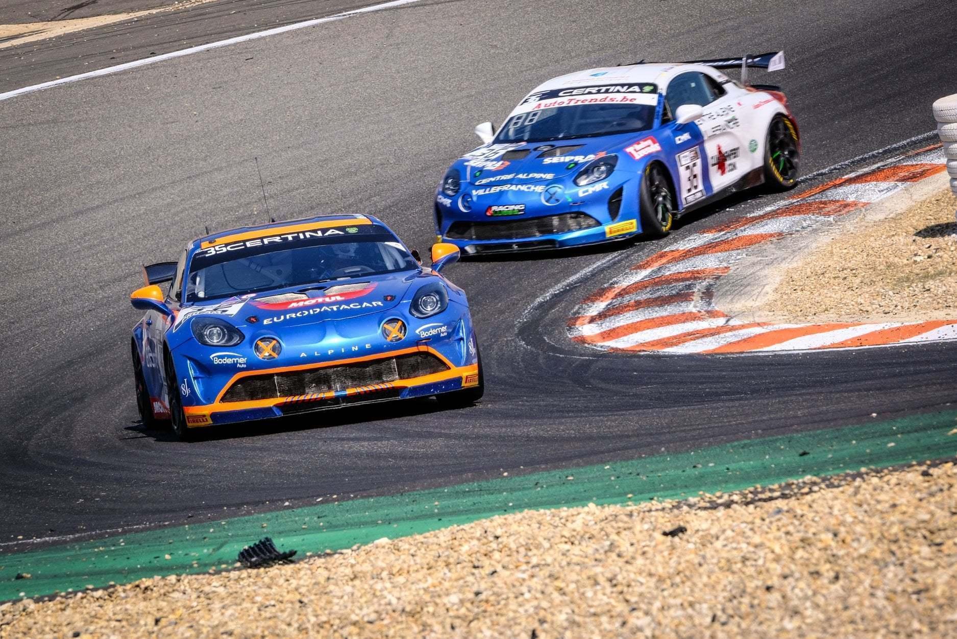 FFSA GT4 Circuit Lédenon Course 1 2019 Bodemer CMR Alpine A110 9 | FFSA GT: Rédélé Compétition s'impose à Lédenon ! (Course 1)