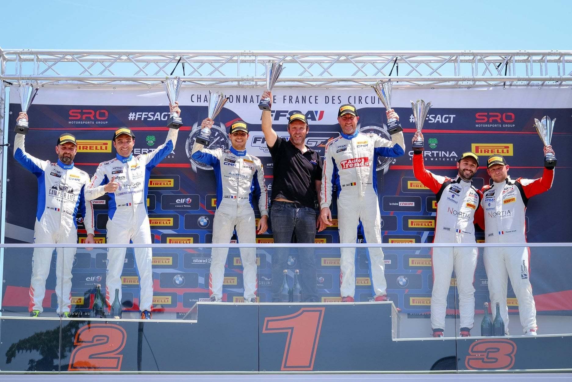 FFSA GT: CMR reprend la main Lédenon ! (Course 2) 4