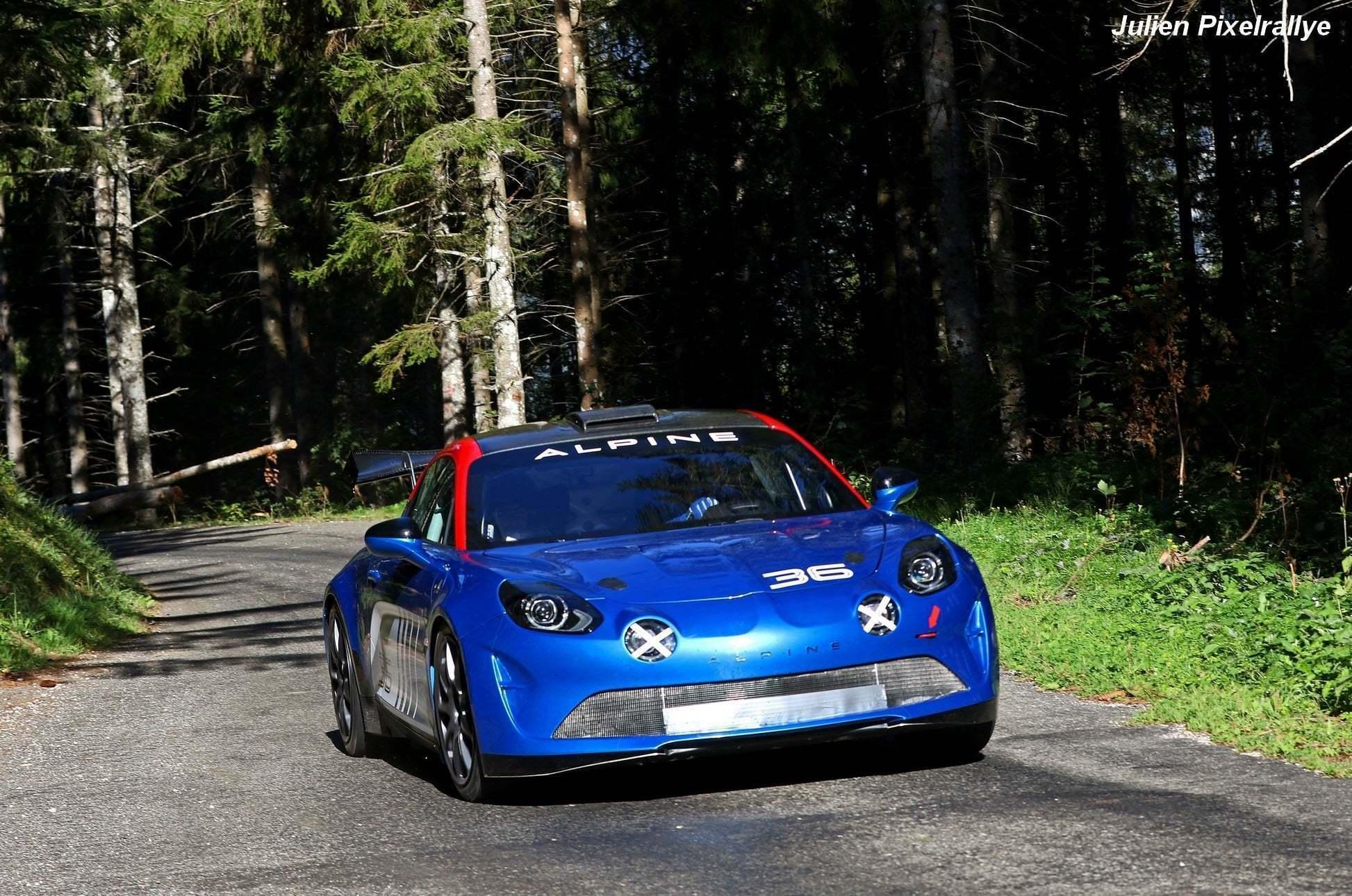 L'Alpine A110 Rally / R-GT en vidéo ! 2