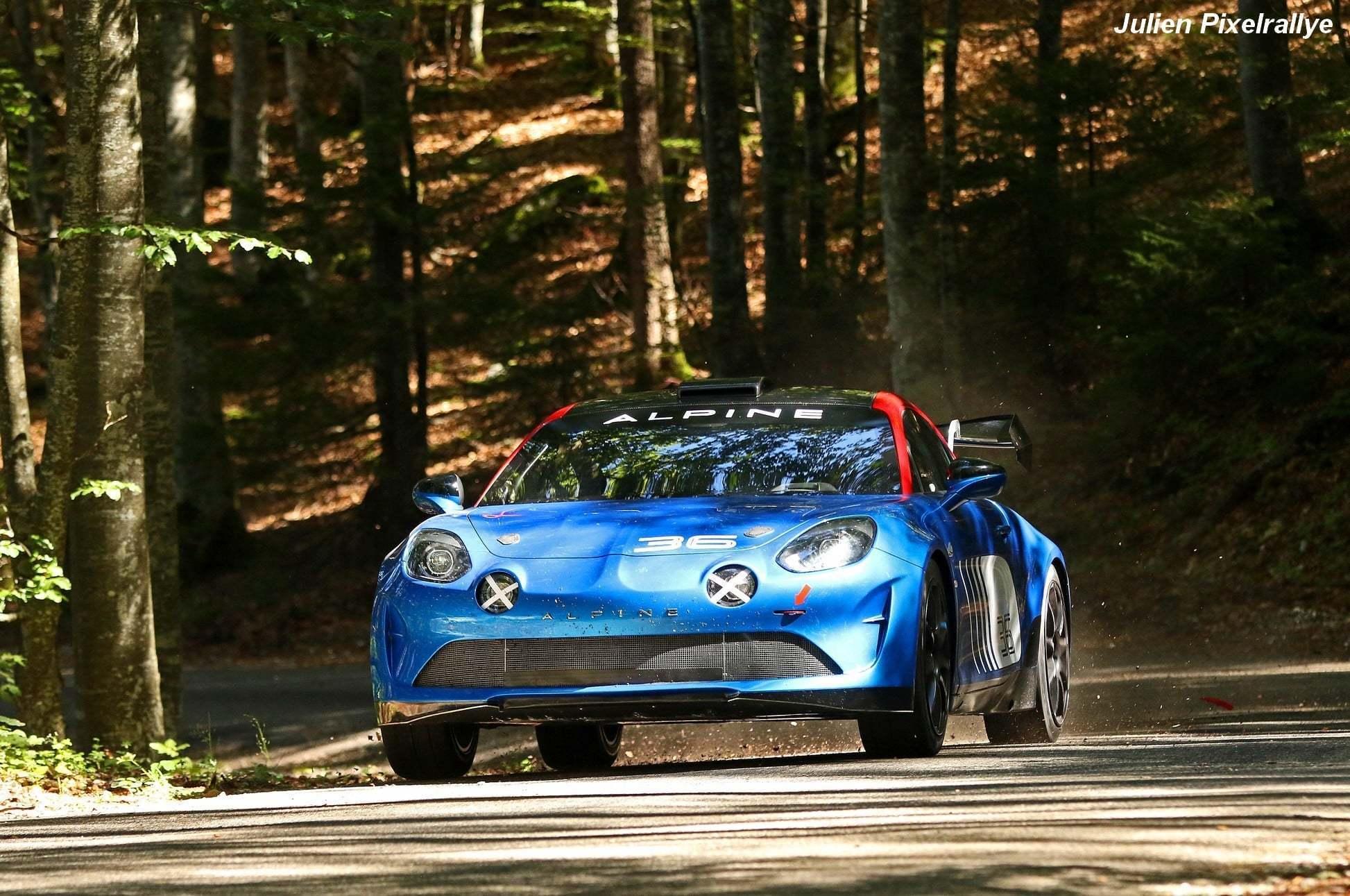 L'Alpine A110 Rally / R-GT en vidéo ! 18