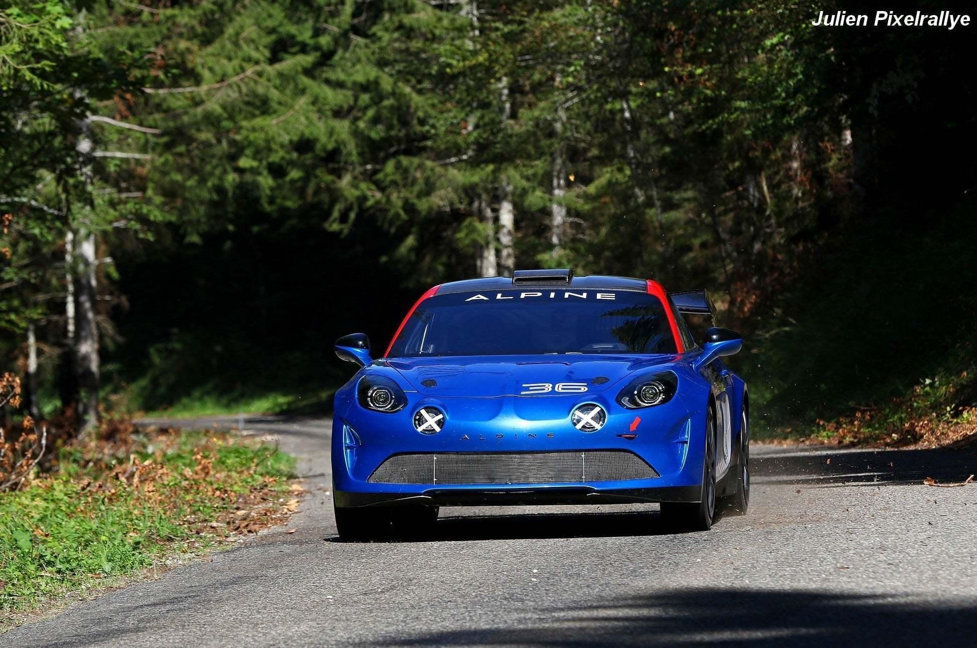 L'Alpine A110 Rally / R-GT en vidéo ! 10