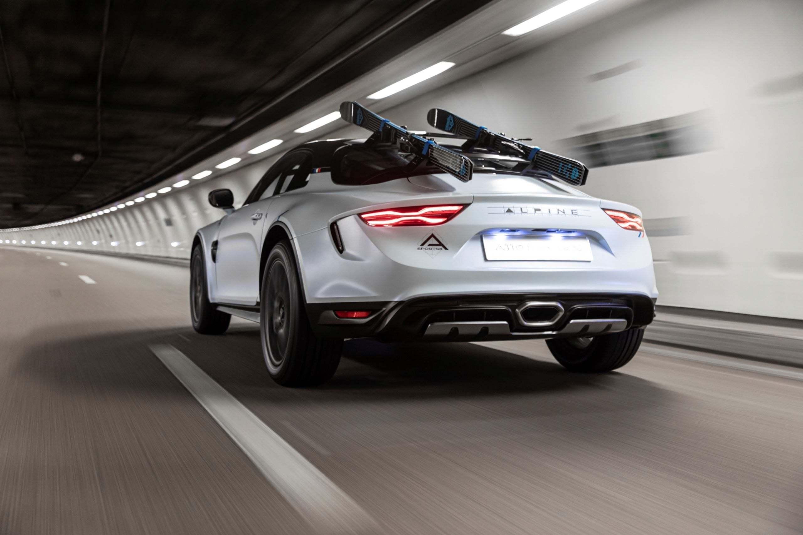 Alpine A110 SportsX Festival International Automobile 2020 6 scaled | Alpine A110 Sports X : un concept SUV Coupé ?