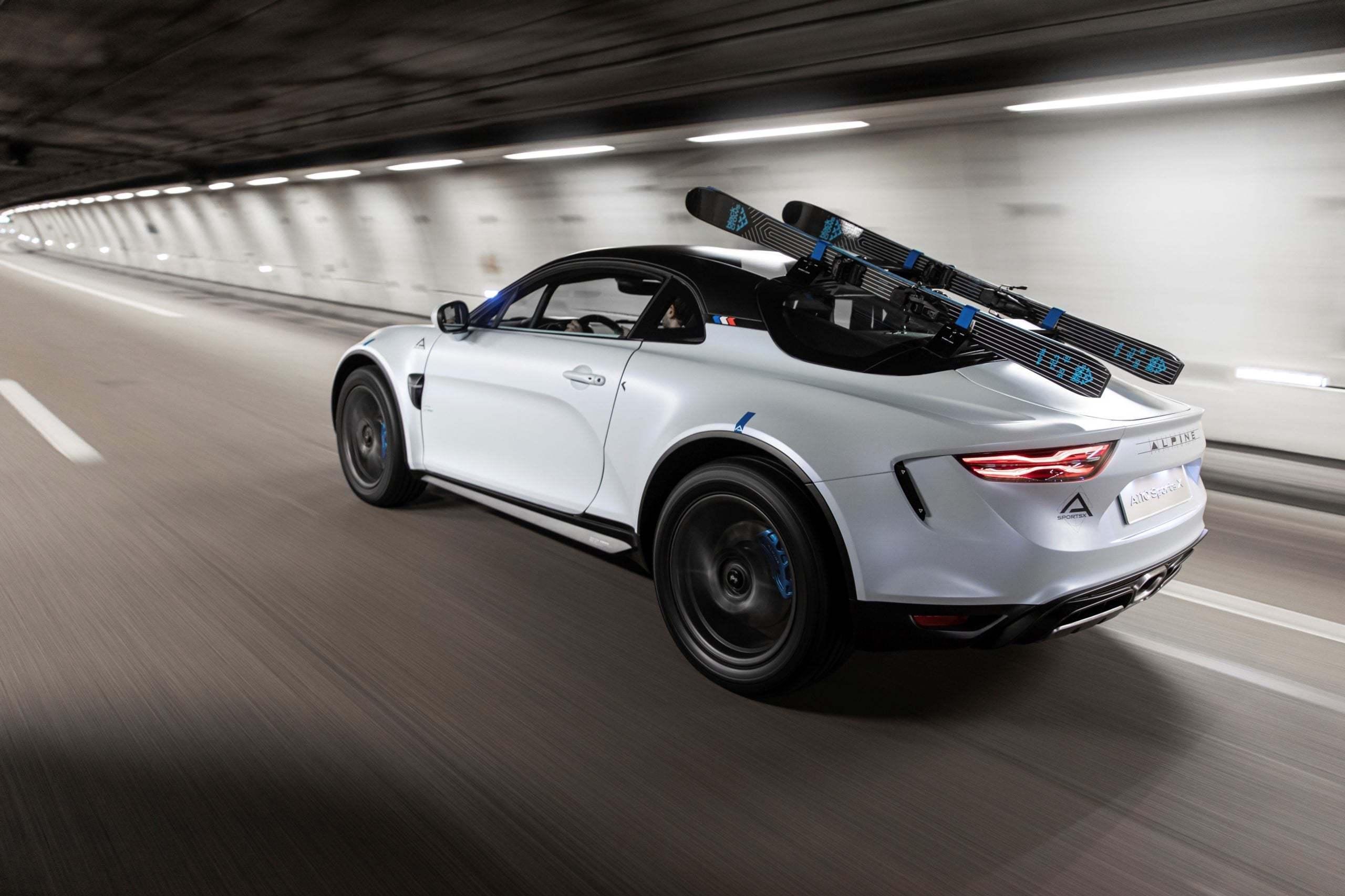 Alpine A110 SportsX Festival International Automobile 2020 7 scaled | Alpine A110 Sports X : un concept SUV Coupé ?