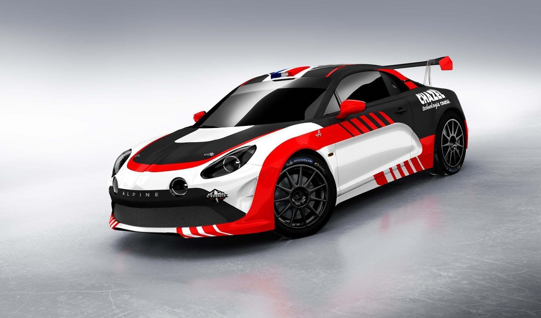 Le Team Chazel Technologie Course engagera une Alpine A110 R-GT en 2020 3