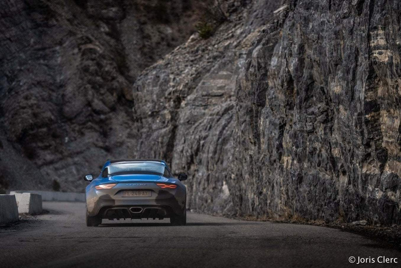 alpine a110 ouvreuse rallye monte carlo 2 | Une Alpine A110 ouvreuse au Rallye Monte-Carlo