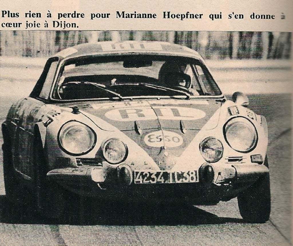 6B0C1041 573E 494D 96F5 E4966B163665 | Alpine des femmes des voitures : Mariane Hoepfner