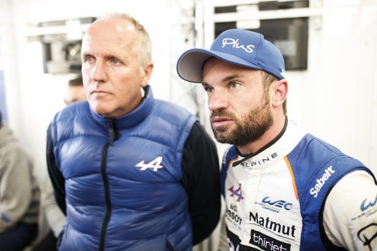Philippe Sinault WEC Alpine Signatech