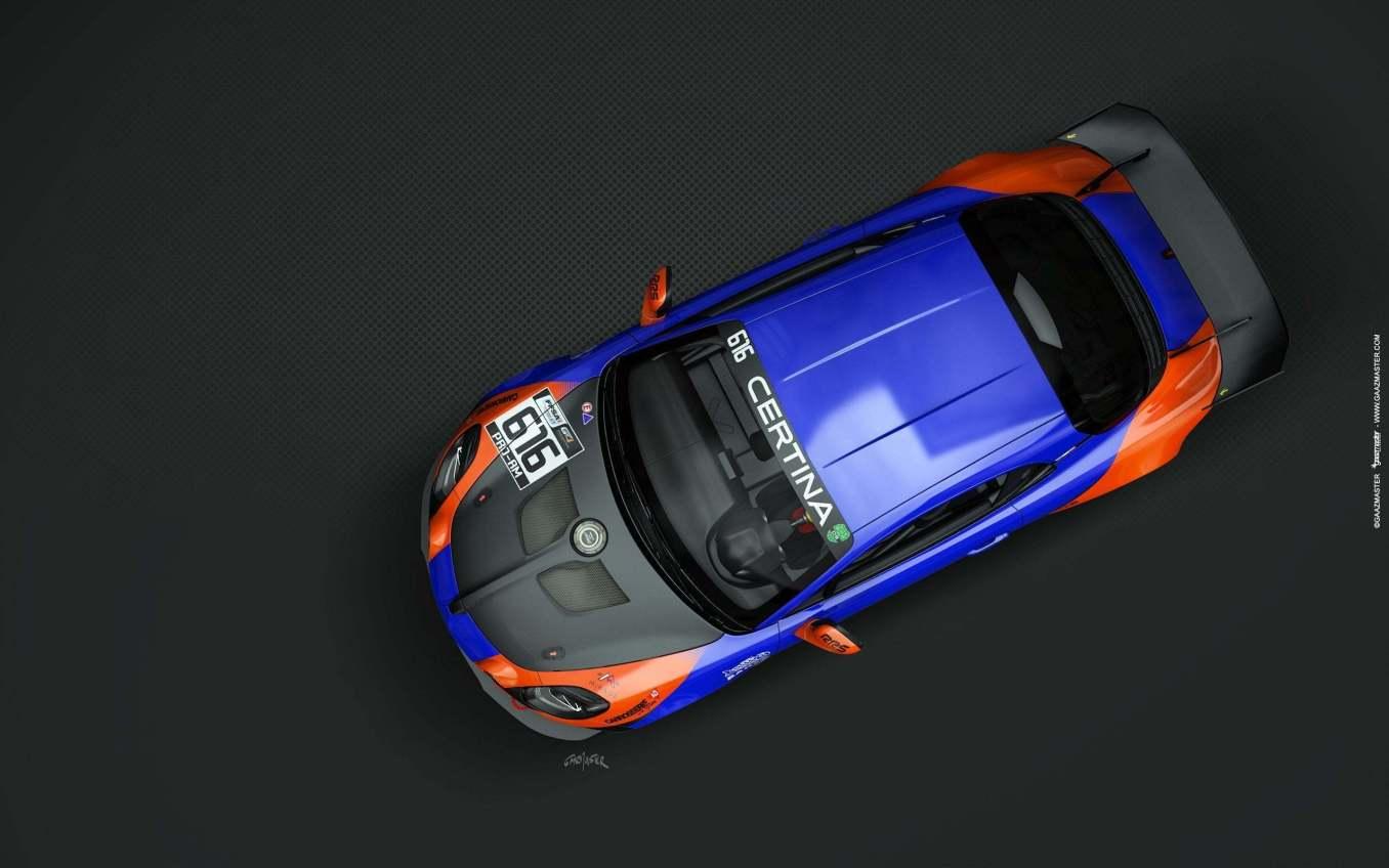 Alpine A110 GT4 Mirage Racing Iannetta