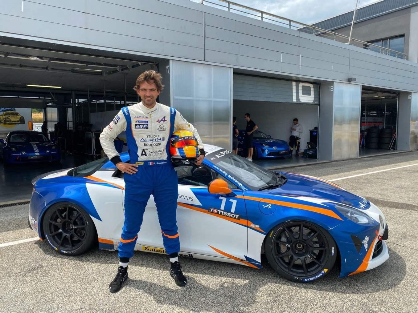 Pierre Sancinena Alpine A110 Cup 2020