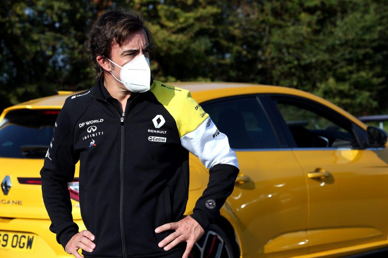 Fernando Alonso Alpine F1 Team