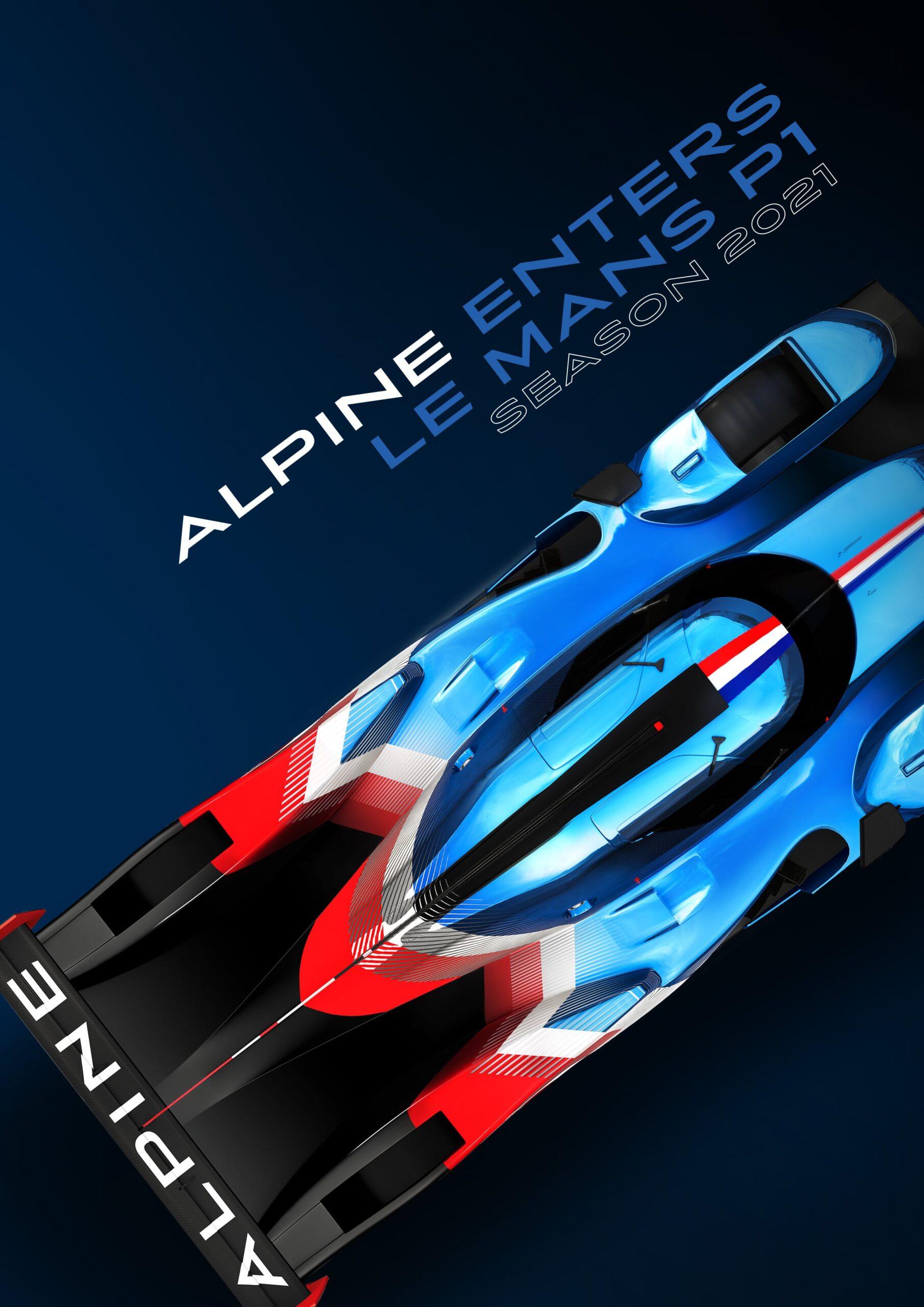 Alpine LMP1 2021 WEC