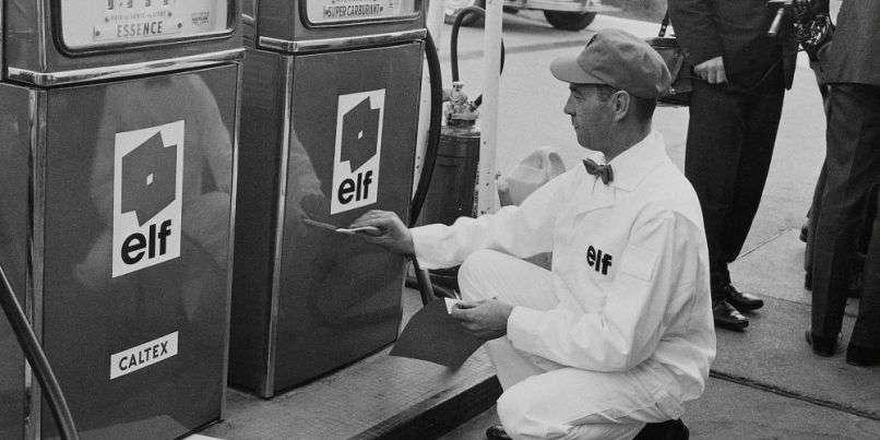 Petrolier Elf 1967   L'Alpine A350, la F1 tuée dans l'oeuf