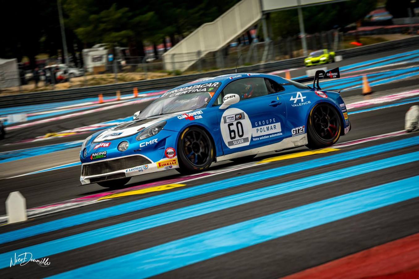 Alpine A110 GT4 FFSA GT Castellet Paul Ricard 2020 2 | Alpine A110 GT4 : Première victoire de Mirage Racing au Castellet en FFSA GT 2020