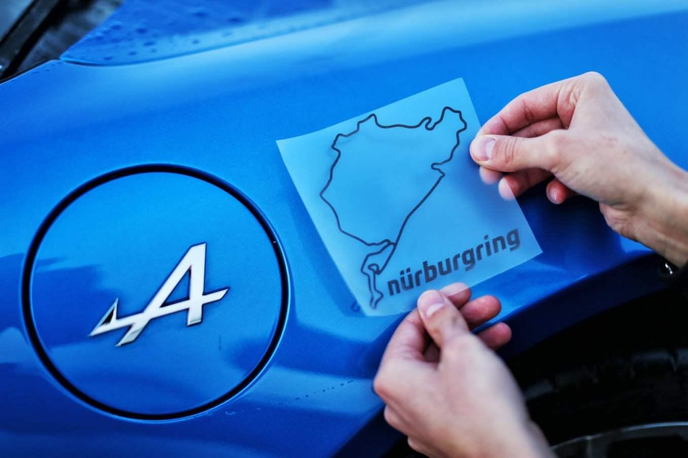 Alpine F1 Team Esteban Ocon A110 Nurburgring 2 | Alpine F1 Team : Esteban Ocon au volant de l'A110 sur le Nürburgring