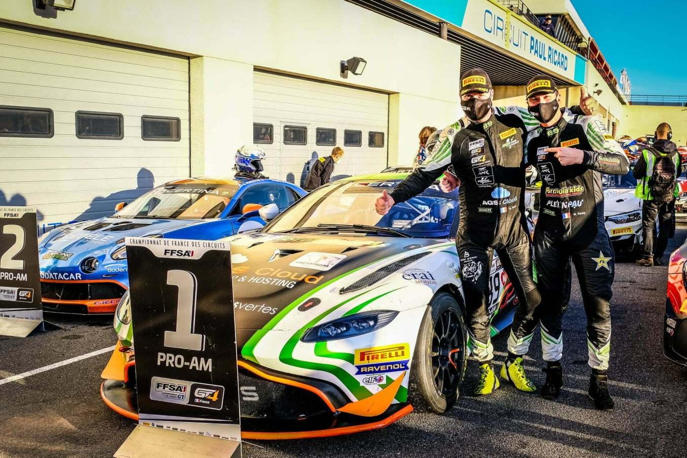 FFSA GT4 Alpine A110 CMR Prost Redele Castellet Paul Ricard 2020 8 | Alpine A110 GT4 : la grande finale au Castellet ⎜Course n°2