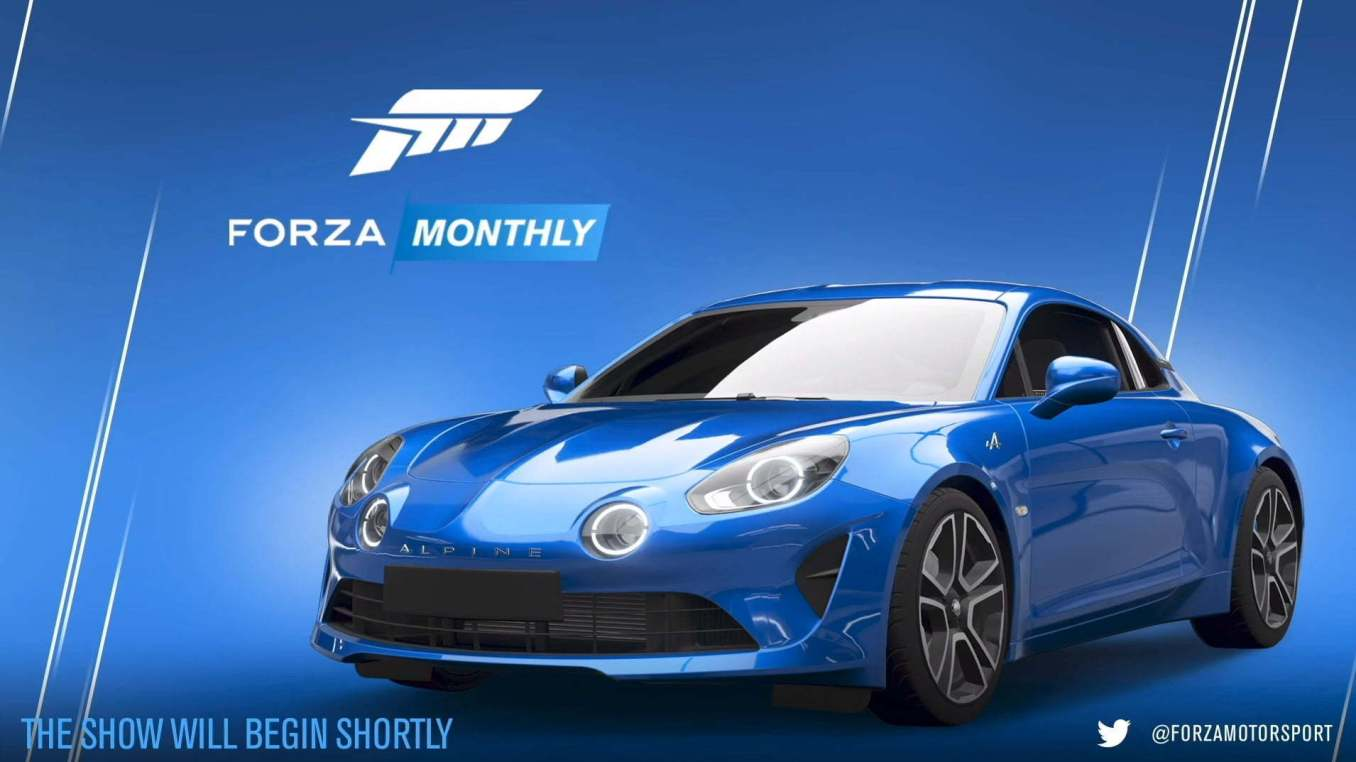 Forza Horizon 4 Alpine 2   30 idées de cadeaux de Noël pour les passionnés d'Alpine