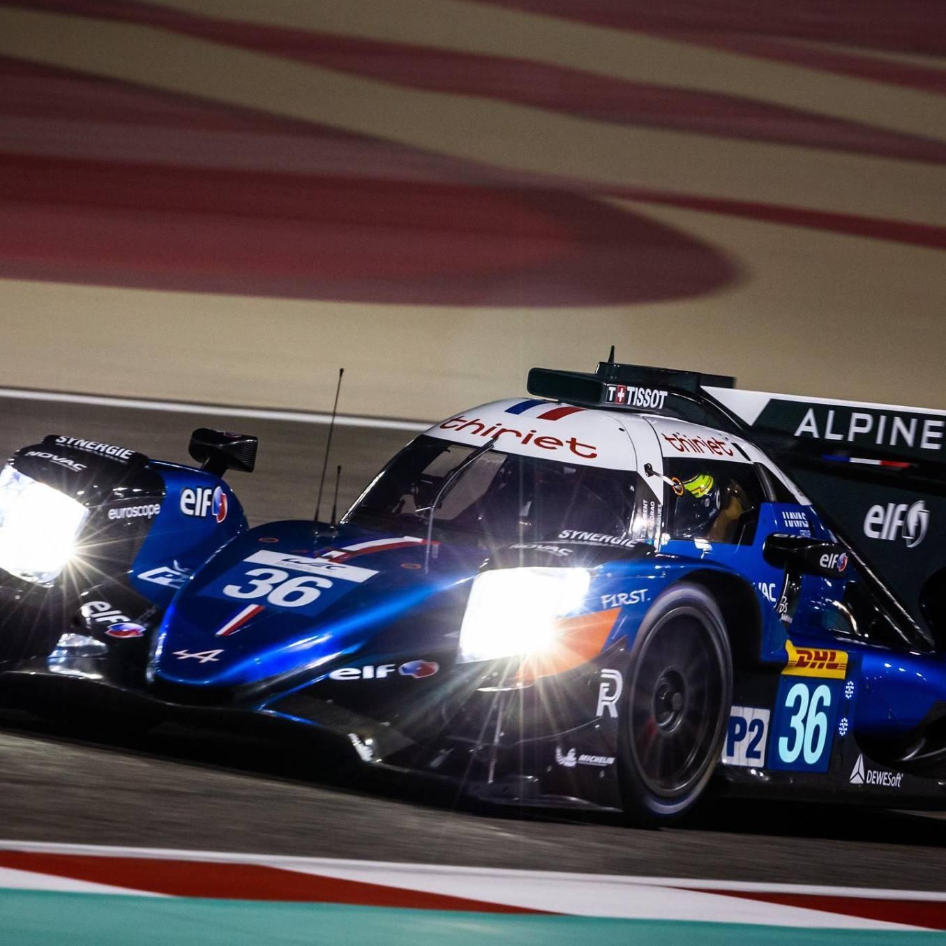 Signatech Alpine A470 Laurent Ragues Negrao Bahrein WEC 2020 LMP2 10 | Alpine A480 : les premiers essais ce weekend à Motorland