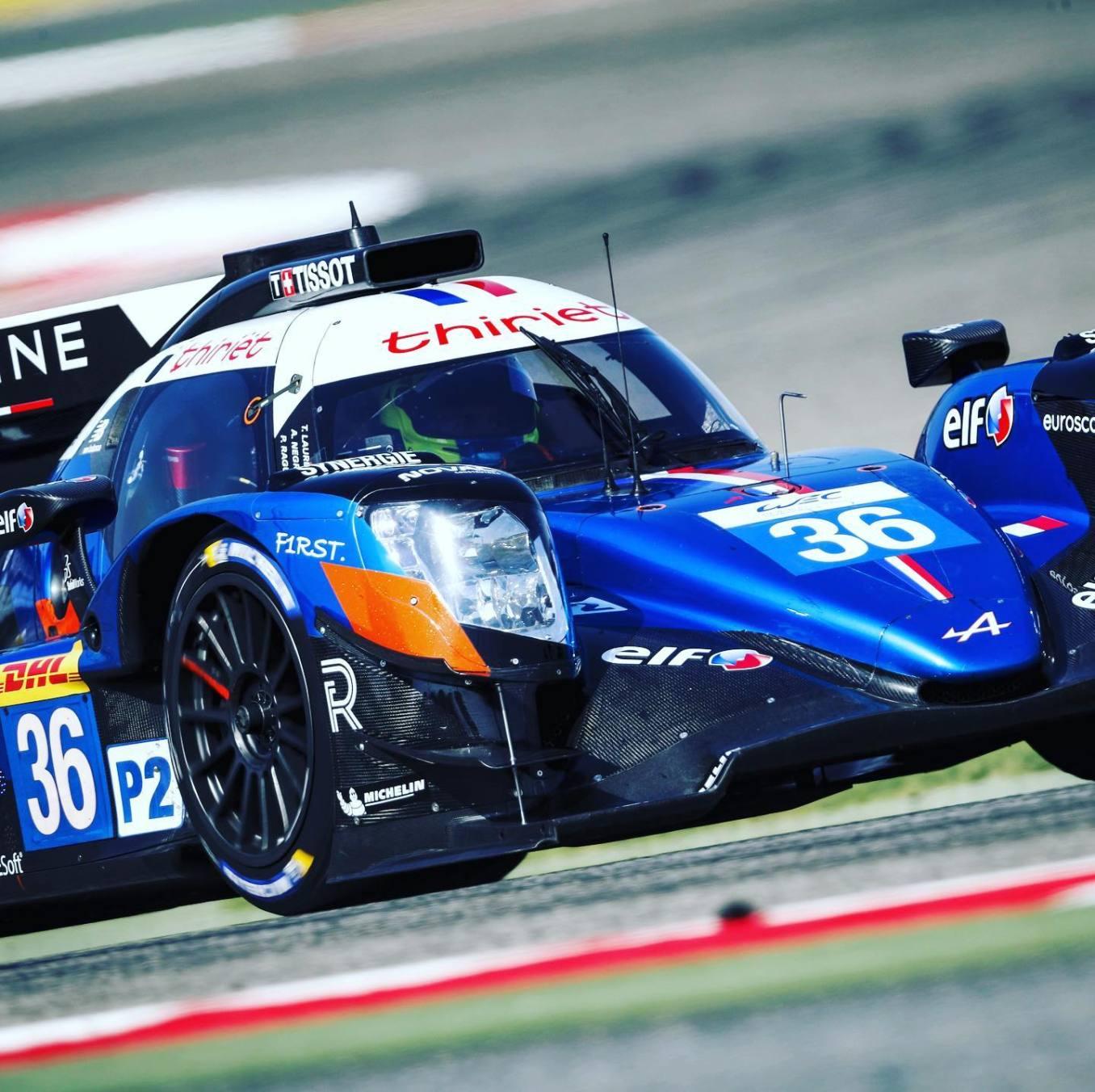 Signatech Alpine A470 Laurent Ragues Negrao Bahrein WEC 2020 LMP2 16 | Signatech Alpine atteint la 5ème place à Bahreïn