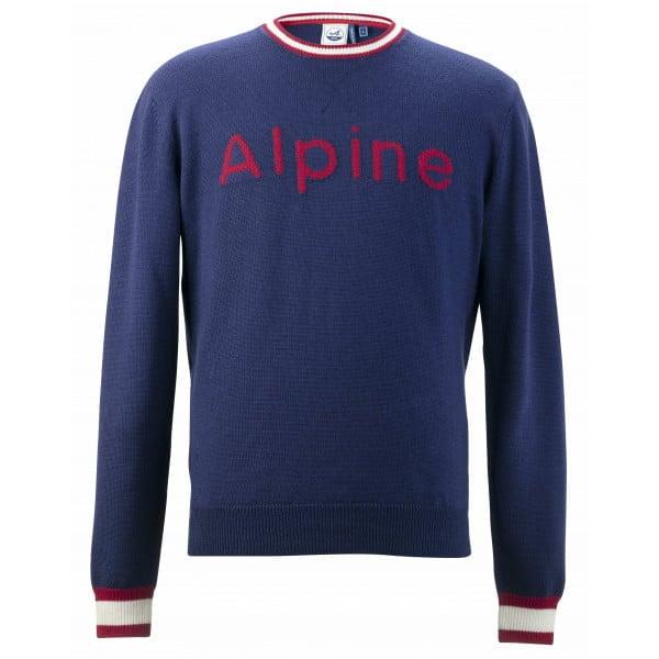 pull laine homme alpine 1955   30 idées de cadeaux de Noël pour les passionnés d'Alpine