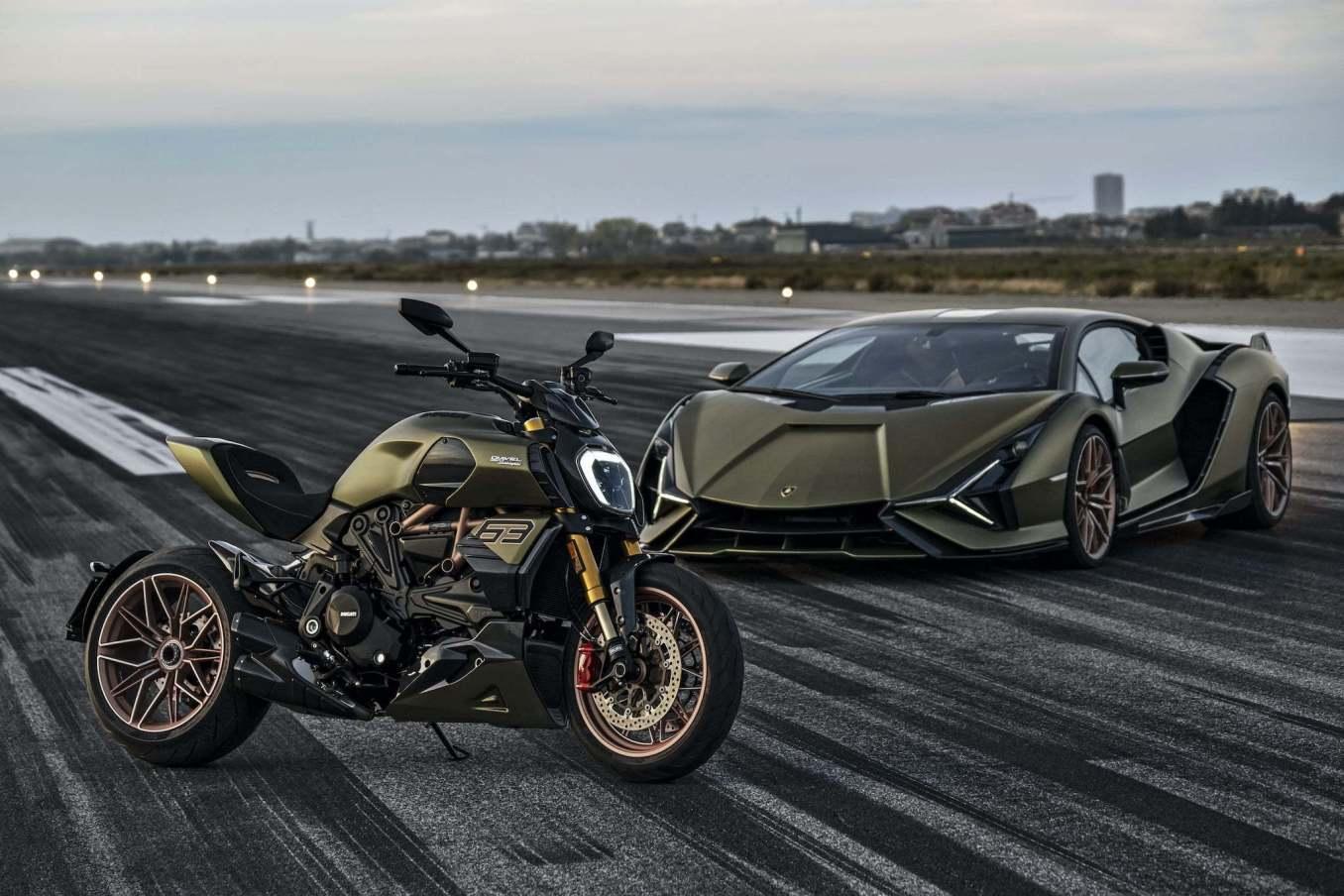 Ducati Diavel 1260 Lamborghini 2 | MV Agusta Superveloce Alpine 2020 : le mariage Franco-Italien !