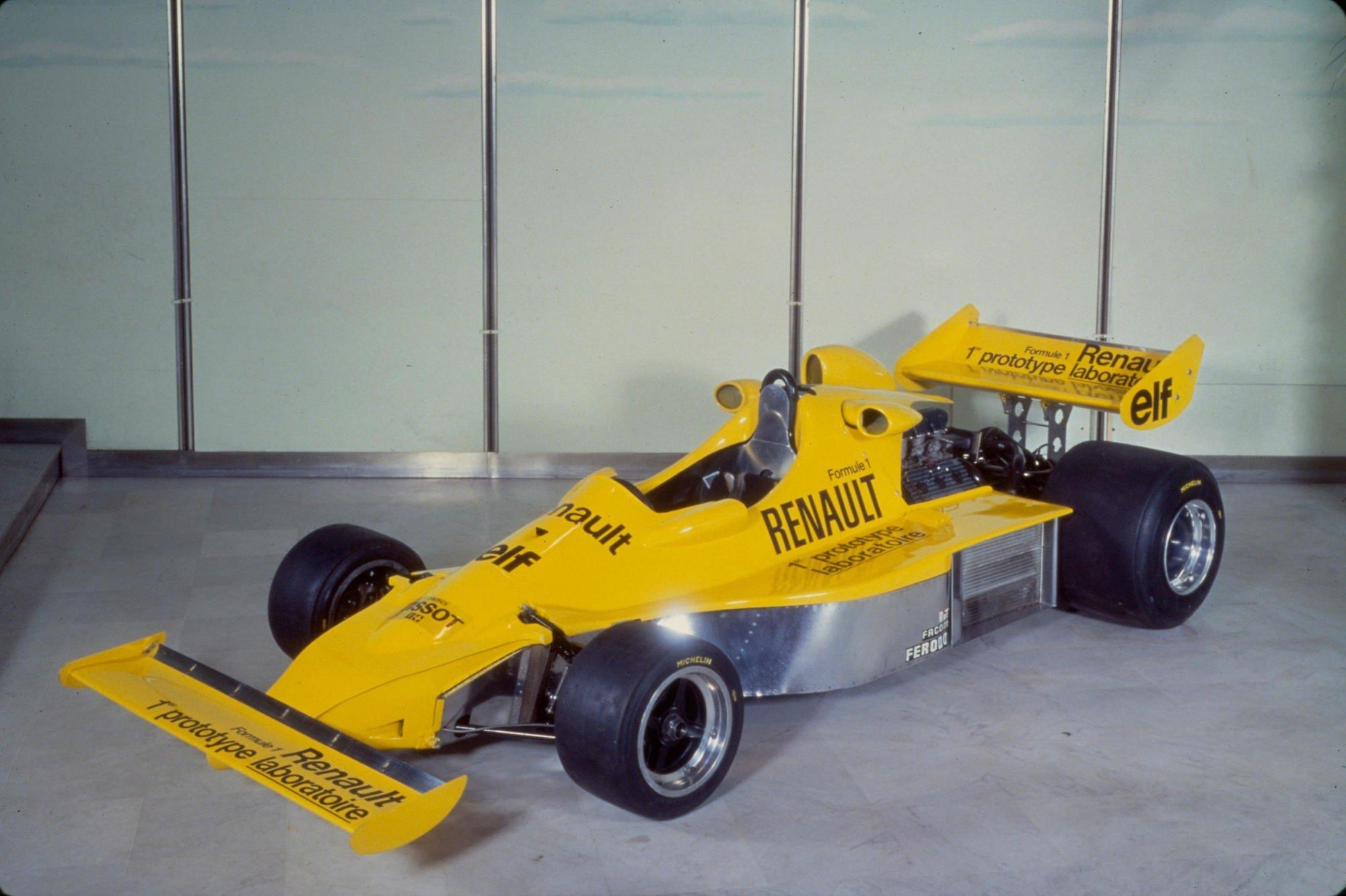 Alpine A500 F1 Team renault