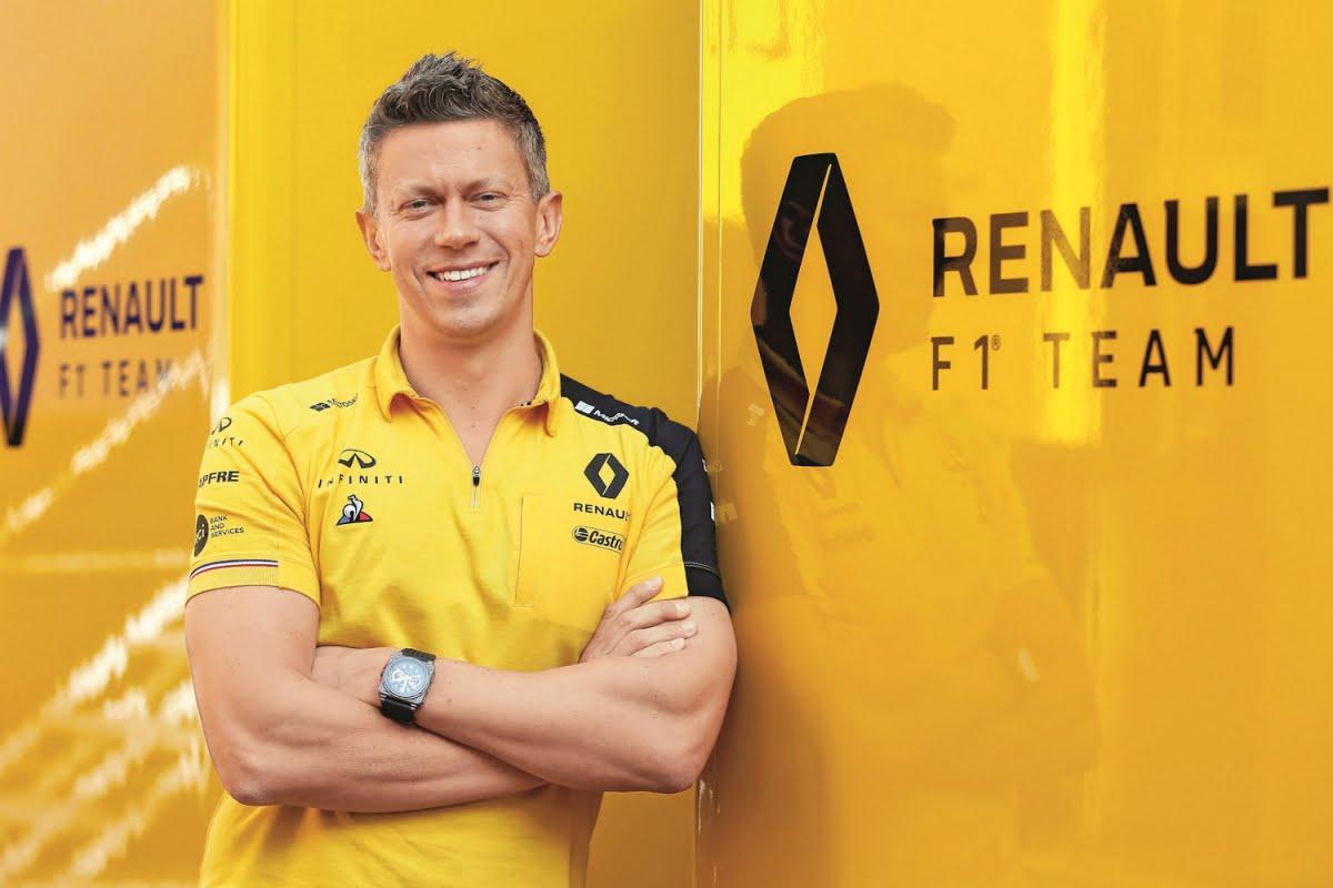 Marcin Budkowski Alpine F1 Team
