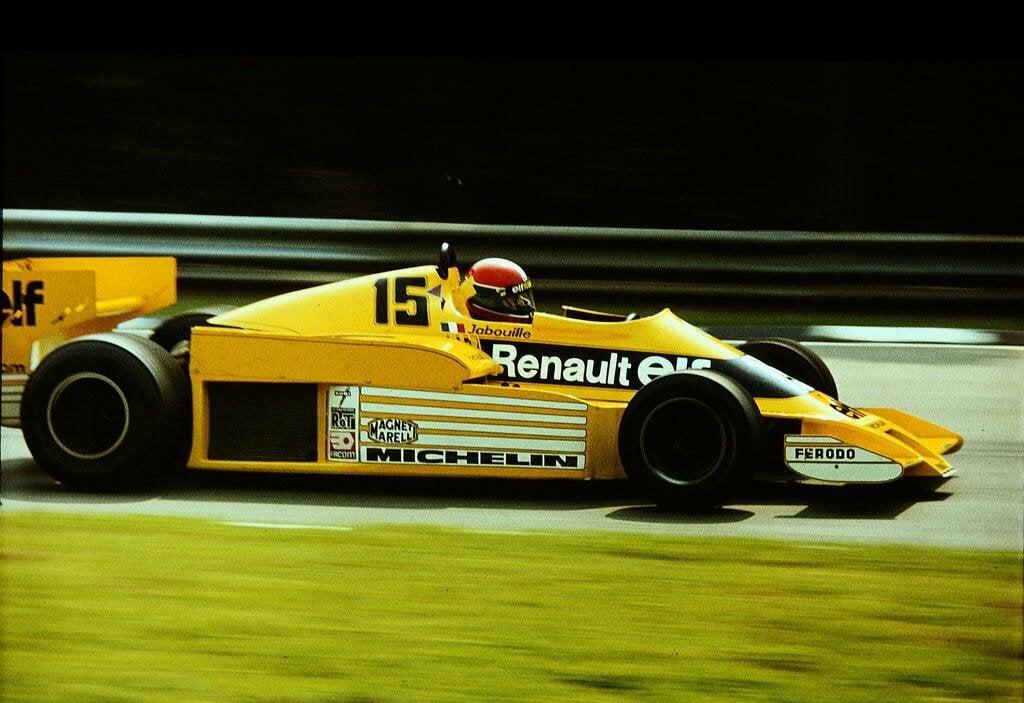 Renault RS 01 1978 F1