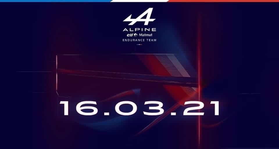 Alpine Endurance Team / Alpine A480