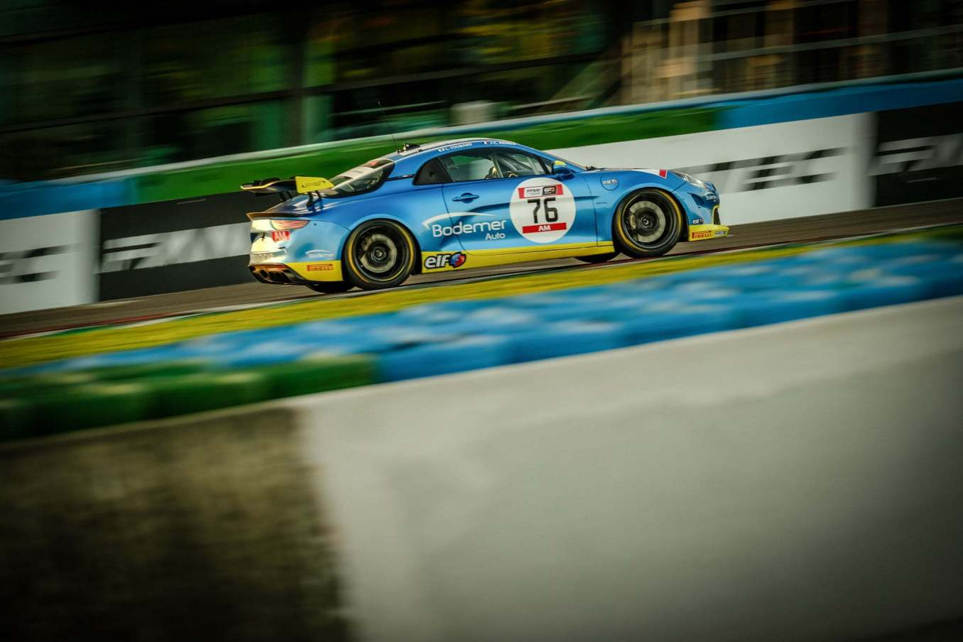 Alpine A110 GT4 Magny Cours FFSA GT 2021 15 | FFSA GT : l'Alpine A110 GT4 dans le Top 3 à la course 1 à Magny-Cours